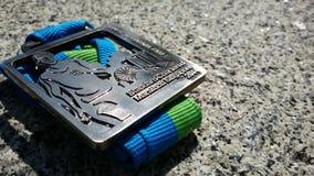 Médaille de finisseur Images stock
