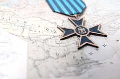 Médaille de guerre Images libres de droits