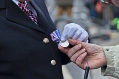 Médaille de l'accomplissement photographie stock libre de droits