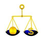 Médaille de l'or d'équilibre d'échelles (en) Image libre de droits
