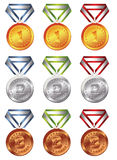 Médaille de récompense Photos libres de droits