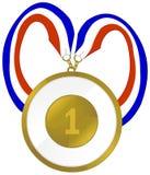 Médaille de récompense Photos stock