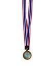 Médaille en métal Photographie stock libre de droits