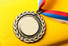 Médaille en métal Photographie stock