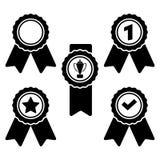 médaille Icônes de vecteur pour le Web et les applications Illustration Libre de Droits