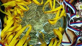 médailles Photographie stock
