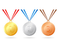 médailles Images libres de droits