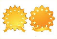 Médailles d'or Photographie stock