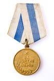 Médailles d'anniversaire d'une victoire dans la guerre Image stock