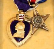 Médailles d'honneur Photos stock