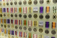 Médailles d'honneur au tombeau du souvenir images stock