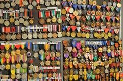 Médailles militaires Photo libre de droits