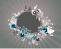 médaillon abstrait Photos stock