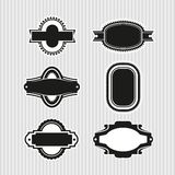 Médaillons 5 illustration stock