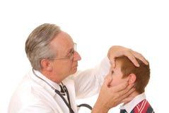Médecin aîné de docteur Photos stock