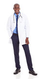 Médecin africain photo stock