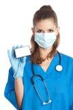 Médecin dans le masque Images libres de droits