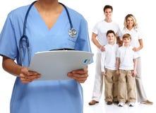 Médecin de famille images stock