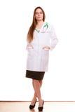 Médecin de femme avec le stéthoscope Soins de santé photos libres de droits