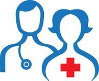 Médecin et infirmière Photo stock