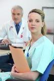 Médecin et infirmière Photo libre de droits