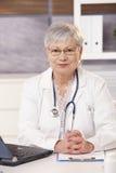Médecin expert au travail Photographie stock