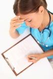 Médecin/infirmière Image libre de droits