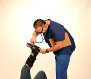 Médecin ou chirurgien Image stock