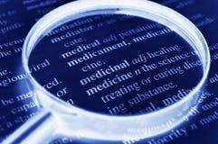 Médecine Image stock