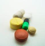 Médecine, capsule et pilule images libres de droits