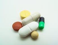 Médecine, capsule et pilule image stock