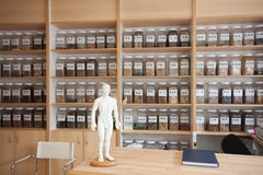 Médecine chinoise Image stock