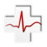 Médecine de coeur Images libres de droits