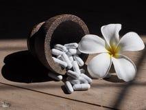 Médecine de fleur Photographie stock libre de droits