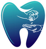 Médecine dentaire Images stock