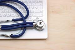 Médecine en ligne Photographie stock