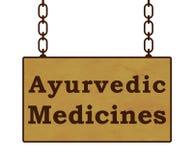 Médecines d'Ayurvedic Photos libres de droits