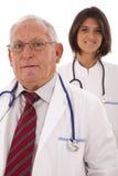 Médecins amicaux d'équipe Images stock