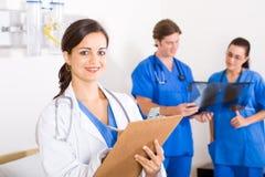 Médecins au travail Photo stock