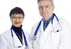 médecins deux images libres de droits
