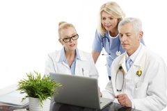 Médecins et infirmière Image stock