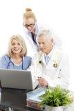 Médecins et infirmière Images stock