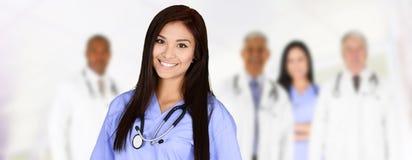 Médecins et infirmière Image libre de droits