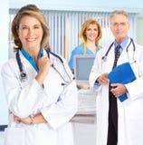 Médecins et infirmières Photo libre de droits