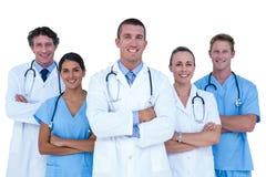 Médecins et infirmières se tenant ensemble photos libres de droits