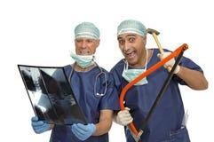 médecins fous Photos stock