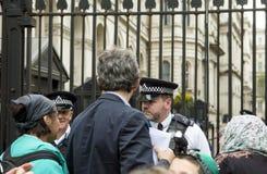 Médecins sous le feu Rassemblement dans Trafalgar Square Image stock