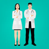 Médecins Vector Ser Photos libres de droits