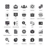 Médias sociaux de banque de revenu d'idée de recherche de durée de l'analyse de produit d'organisation des marchés d'icônes de co illustration stock