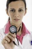 Médical : Docteur féminin Photo stock